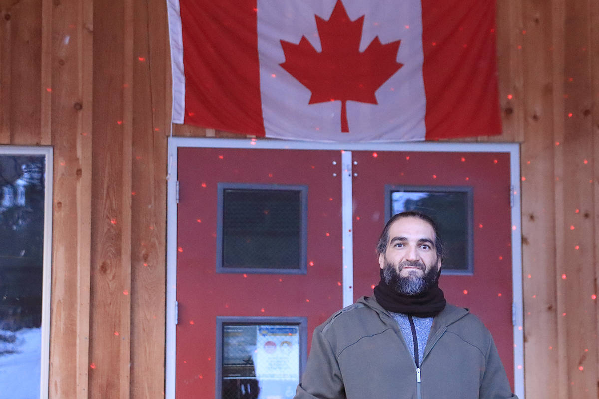 "Othman Ayed Hamdan, who goes by ""Adam, is suing the Crown and the Canada Border Services Agency, alleging they arbitrarily detained him at a B.C. jail after his 2017 acquittal on terrorism-related charges. Photo: Laurie Tritschler"