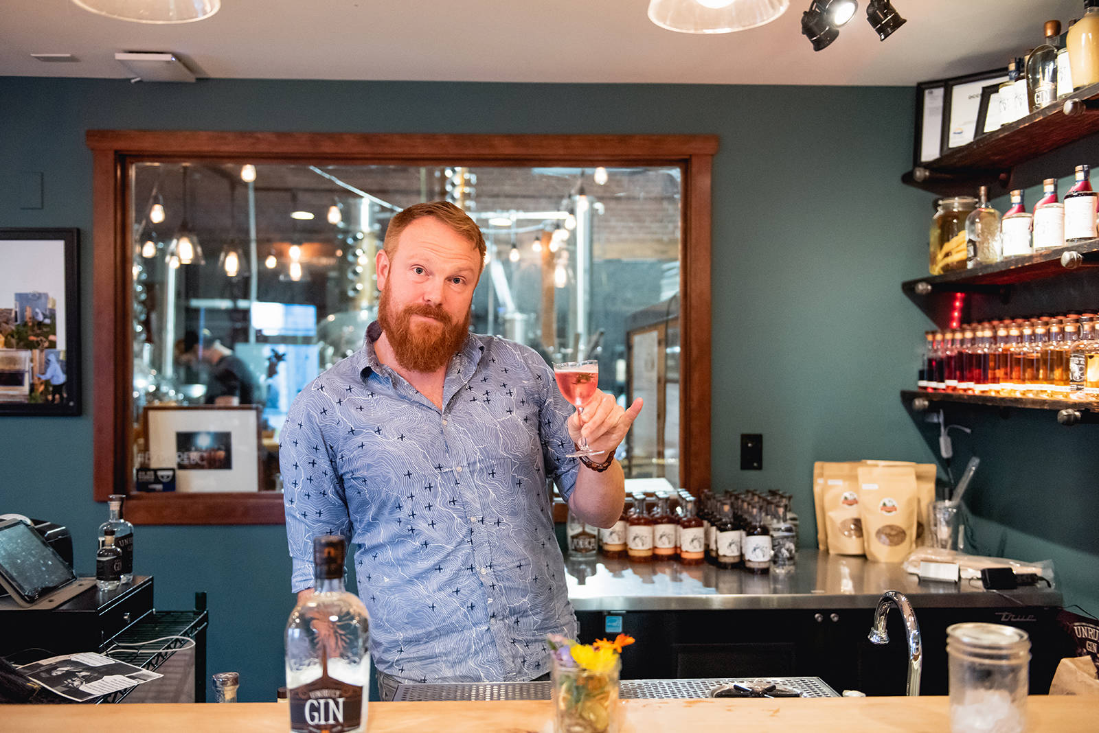 """I wanted to support the food system, not take from it,"" says Dave Brimacombe, whose Wayward Distillery was Canada's first to produce spirits using 100 per cent B.C. honey. Wayward is among the unique distilleries, wineries and breweries crafting delicious beverages in the Comox Valley."